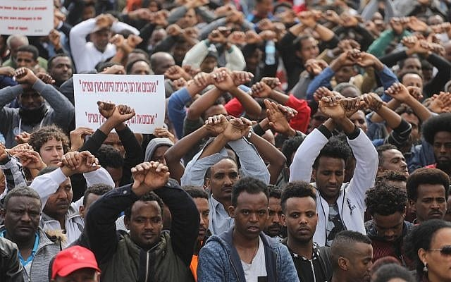 Israel has deported about 20,000 African migrants and asylum seekers since 2012