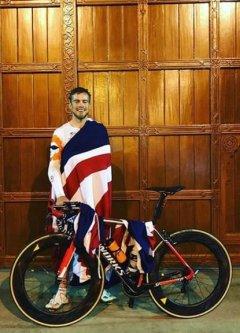 British cycling champion Jonathan Shubert [ubCool/Instagram]