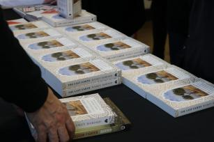 Book Launch of Ramzy's Baroud latest book - The Last Earth: A Palestinian Story on 27 March, 2018 [Jehan Alfarra/Middle East Monitor]
