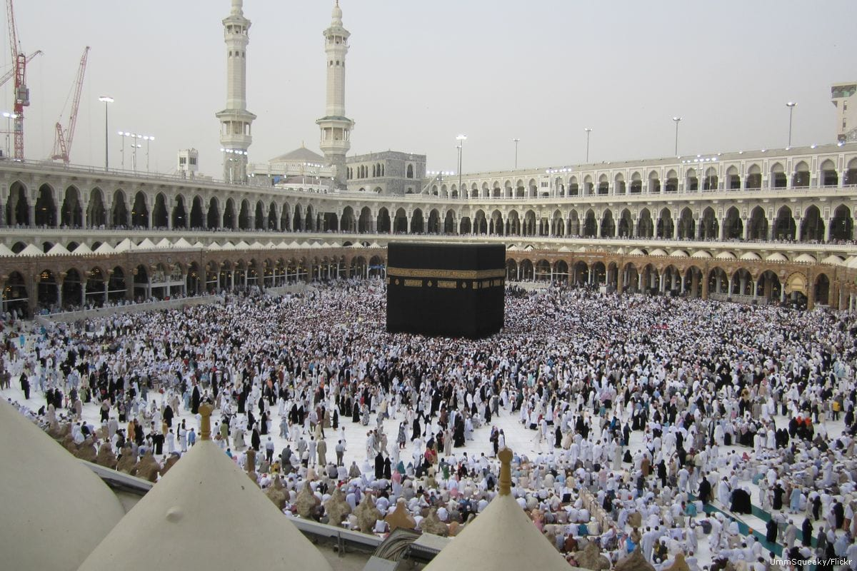 Pilgrims perform Umrah in Mecca, Saudi Arabia [UmmSqueaky/Flickr]