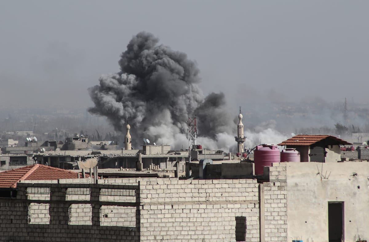 France Mulls Military Action Against Syria For Gas Attacks