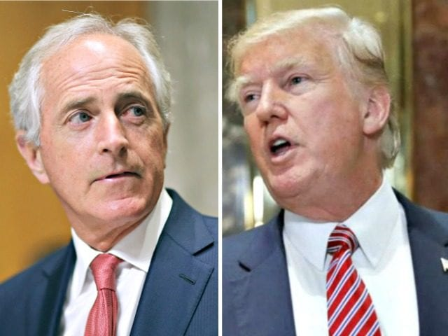 Corker says Iran nuclear deal is likely on the outs