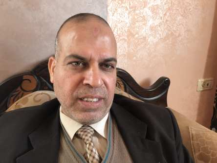 Jameel Salama, 52, PhD in law [Motasem A Dalloul/Middle East Monitor]