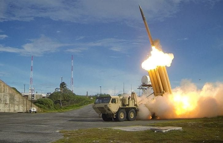 US missile defence system at work [US Department of Defence]