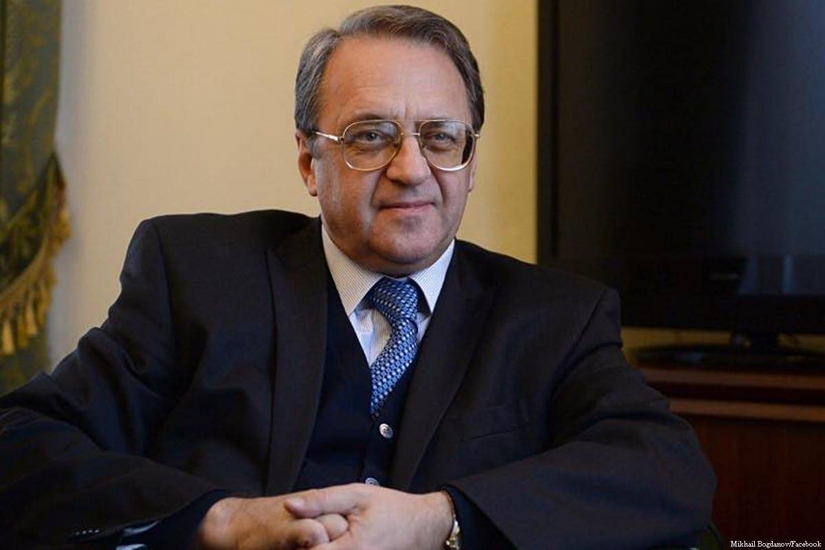 Russian Deputy Foreign Minister Mikhail Bogdanov [Mikhail Bogdanov/Facebook]