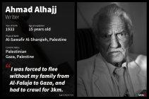 1- Ahmad Alhajj, Gaza