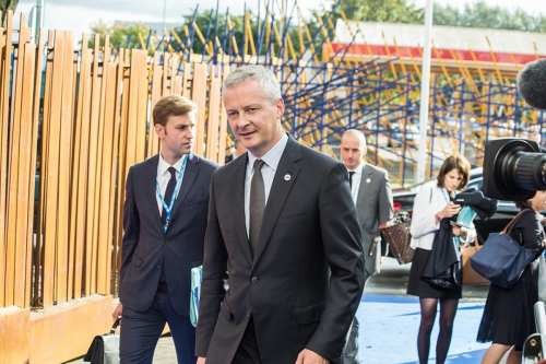 Bruno Le Maire, Minister of Economy and Finance, France seen on September 15, 2017 [EU2017EE Estonian Presidency / Wikipedia]