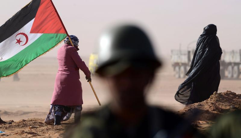 Polisario Front flag [Facebook]