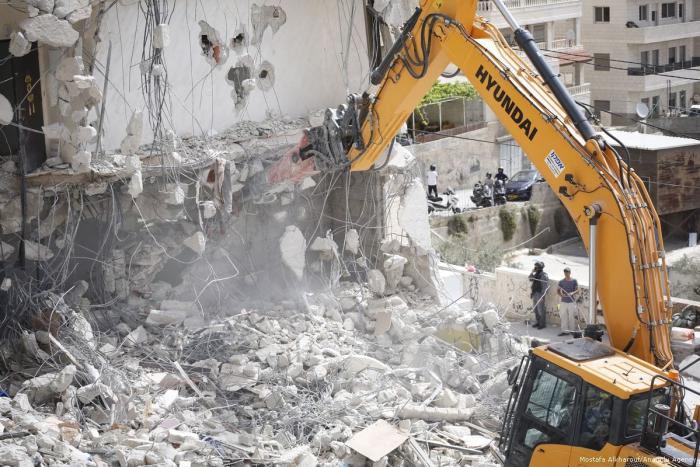 Israel demolished 63 Palestinian facilities in Jerusalem in 2018