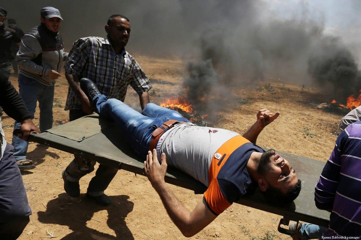 Image result for images; wounded; gaza; violence; nakba