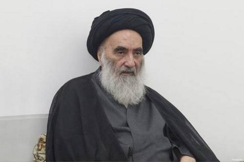 Prominent Shia cleric Ali Al-Sistani [Facebook]