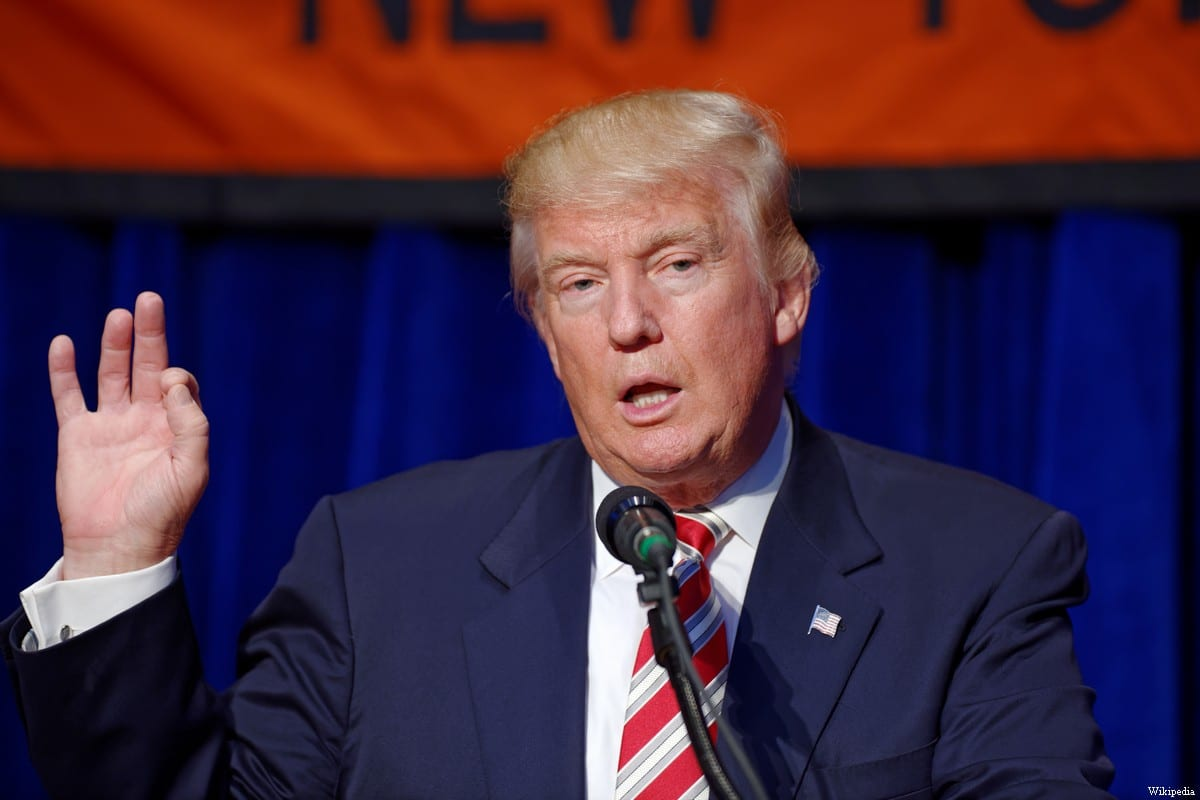 US President Donald Trump [Wikipedia]