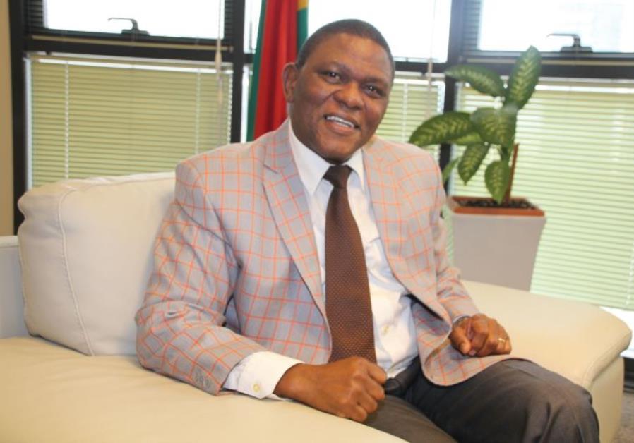 South Africa's Ambassador to Israel Sisa Ngombane