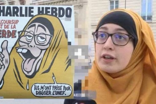 Charlie Hebdo Joins Media Campaign Against Muslim Girl In France Middle East Monitor