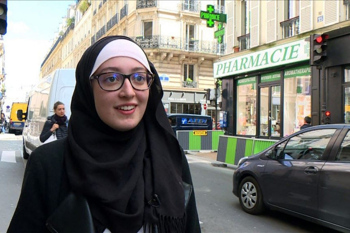 Muslim Teen french girl