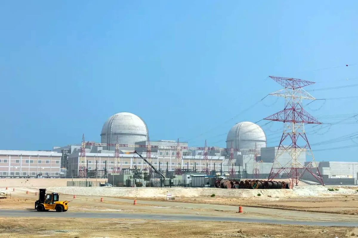 The Arab World's first nuclear power plant, the Barakah Nuclear Energy Plant, in Barakah, UAE [Emirates Nuclear Energy Corporation]