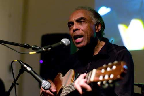 Brazilian music legend Gilberto Gil [Wikipedia]
