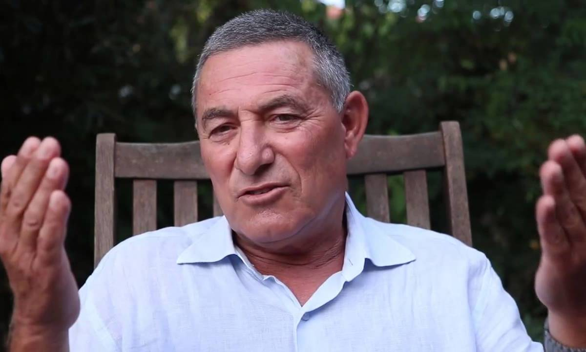 Retired Major General Doron Almog, a former commander for the Israel Defense Forces reserves in the Gaza Strip [screengrab / Youtube]