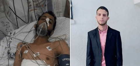 23-year-old Palestinian, Muhammad Ghassan Abu Farhana, died from the injuries he suffered during the Great March of Return [Ma'an News Agency]