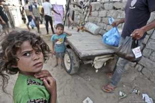 Charities locked out of Gaza due to the siege [Mohammed Asad/Middle East Monitor]