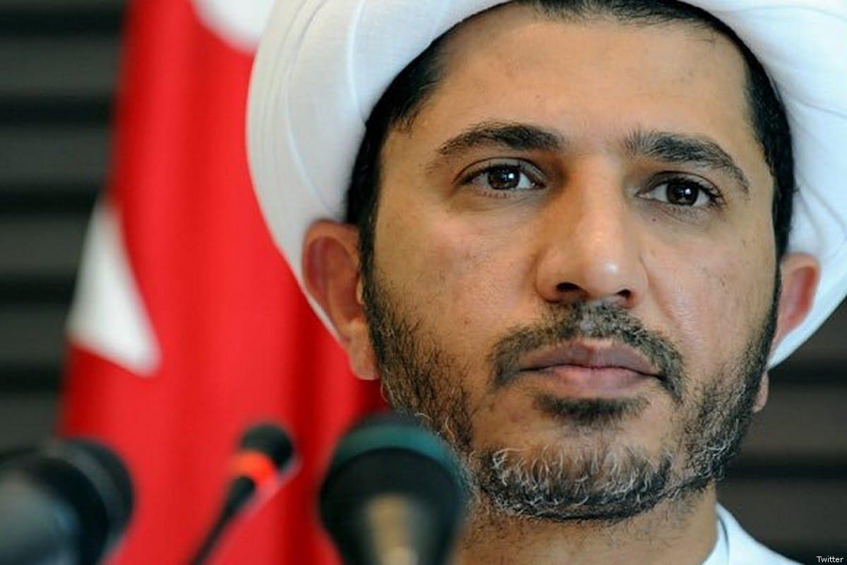 Ali Salman, Shia opposition leader in Bahrain [Twitter]