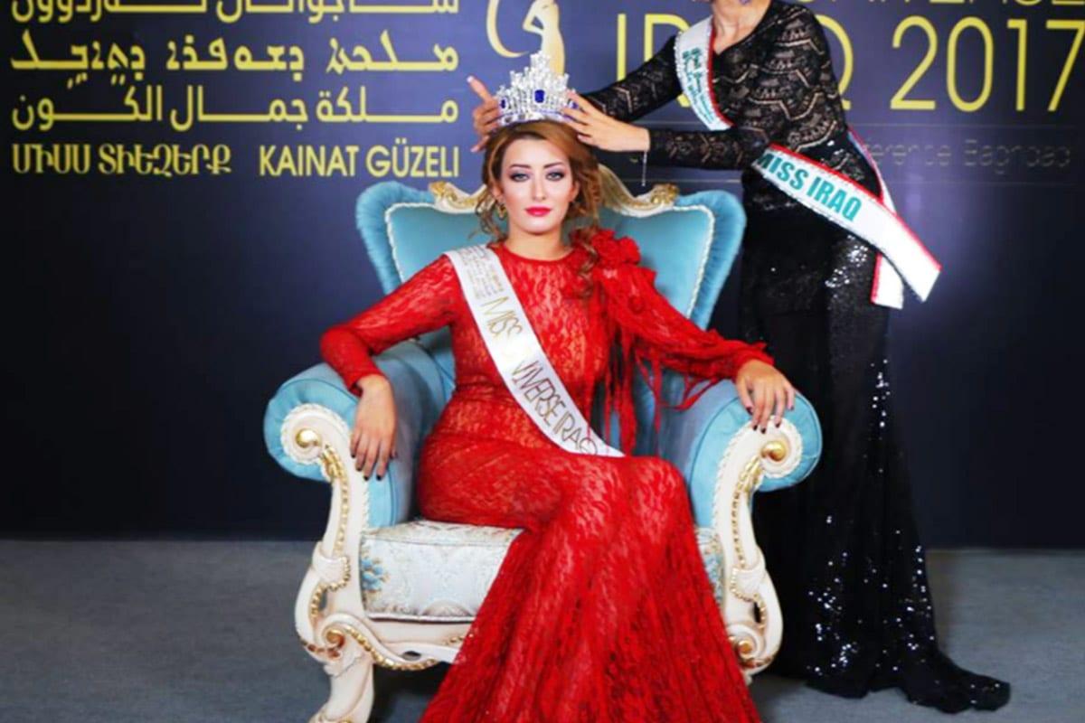 Sarah Idan, Miss Iraq 2017 [Twitter]