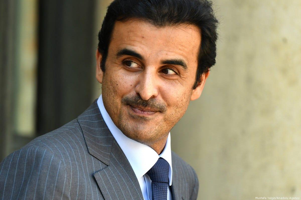 Emir of Qatar Sheikh Tamim bin Hamad Al Thani