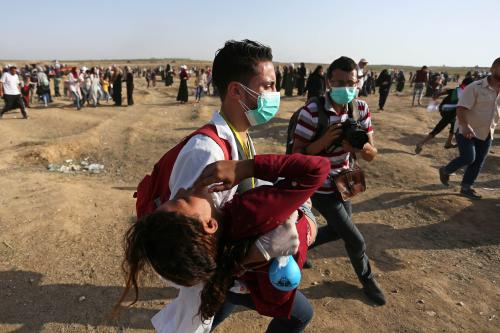 Rights group documents Israel's killing of paramedic in Gaza