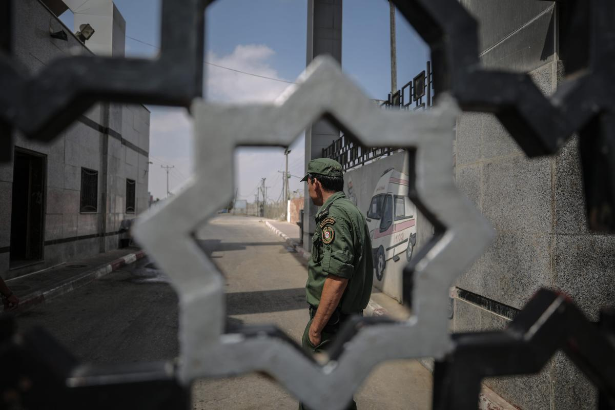 A view of the Rafah crossing point after Egypt closes crossings in both ways in Rafah, Gaza on 17 July, 2018 [Ali Jadallah/Anadolu Agency]
