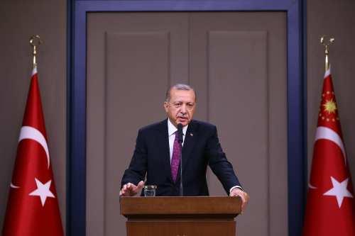 President of Turkey Recep Tayyip Erdogan in Ankara, Turkey [Gökhan Balcı/Anadolu Agency]