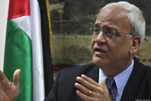 PLO Secretary-General Saeb Erekat [PNNEnglish/Facebook]