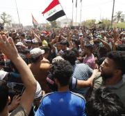 Iraqi protester killed at Badr paramilitary branch