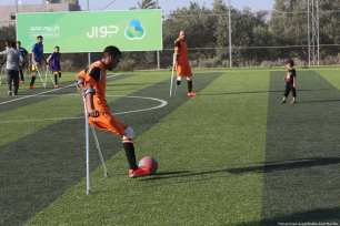 Palestinian amputees have come together to form Gaza's first football squad of people with disabilities [Mohammed Asad/Middle East Monitor]
