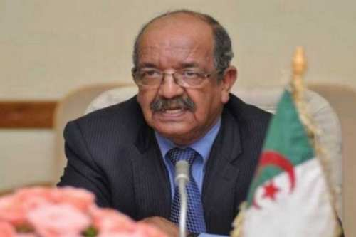 Algerian Minister of Foreign Affairs Abdelkader Messahel