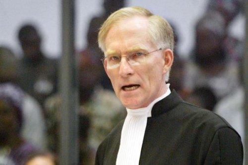 A former senior US legal official, David Crane