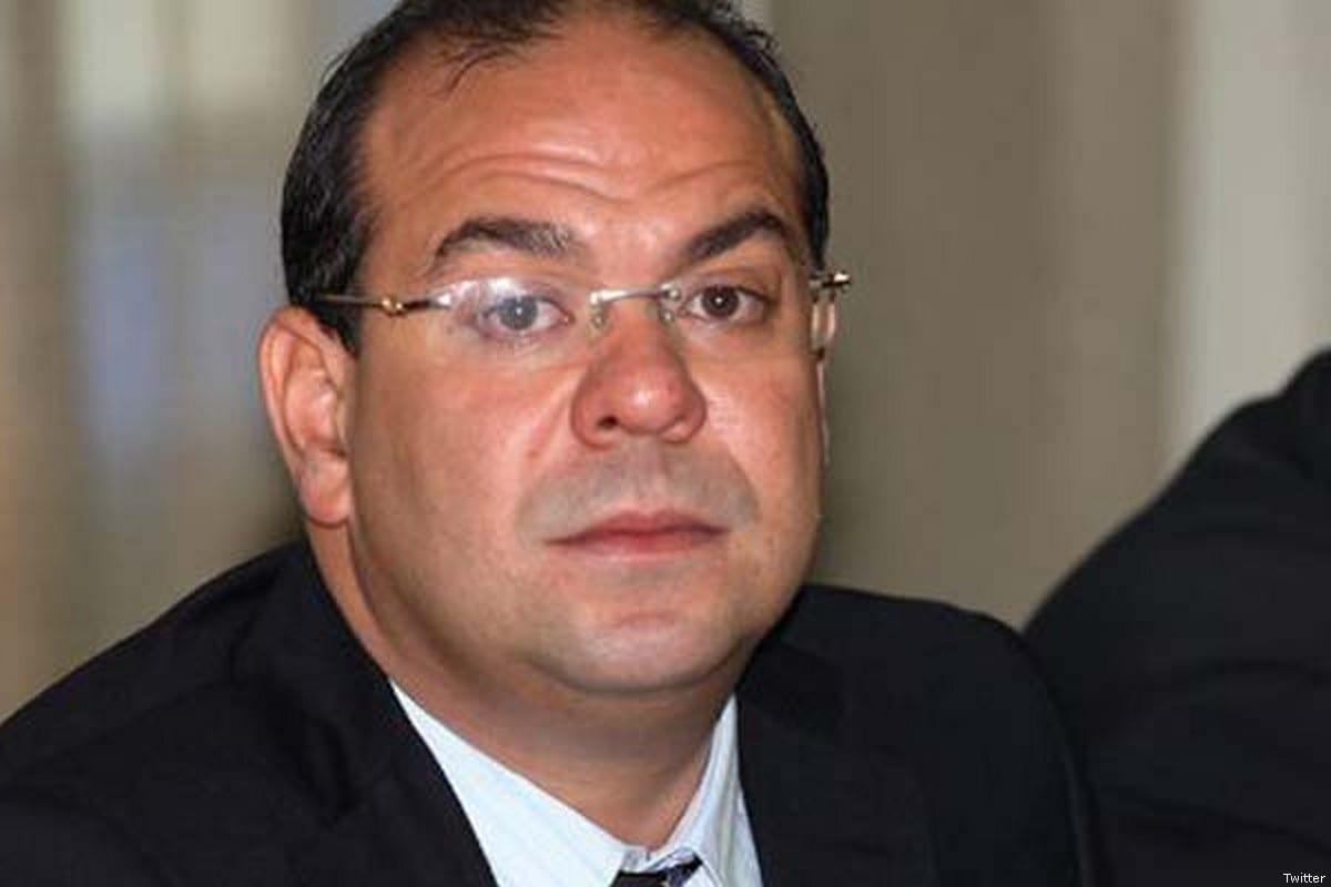 Tunisian politician Mehdi Ben Gharbia [Twitter]