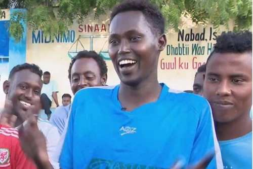 Deaf footballers in Somalia have set up their own league