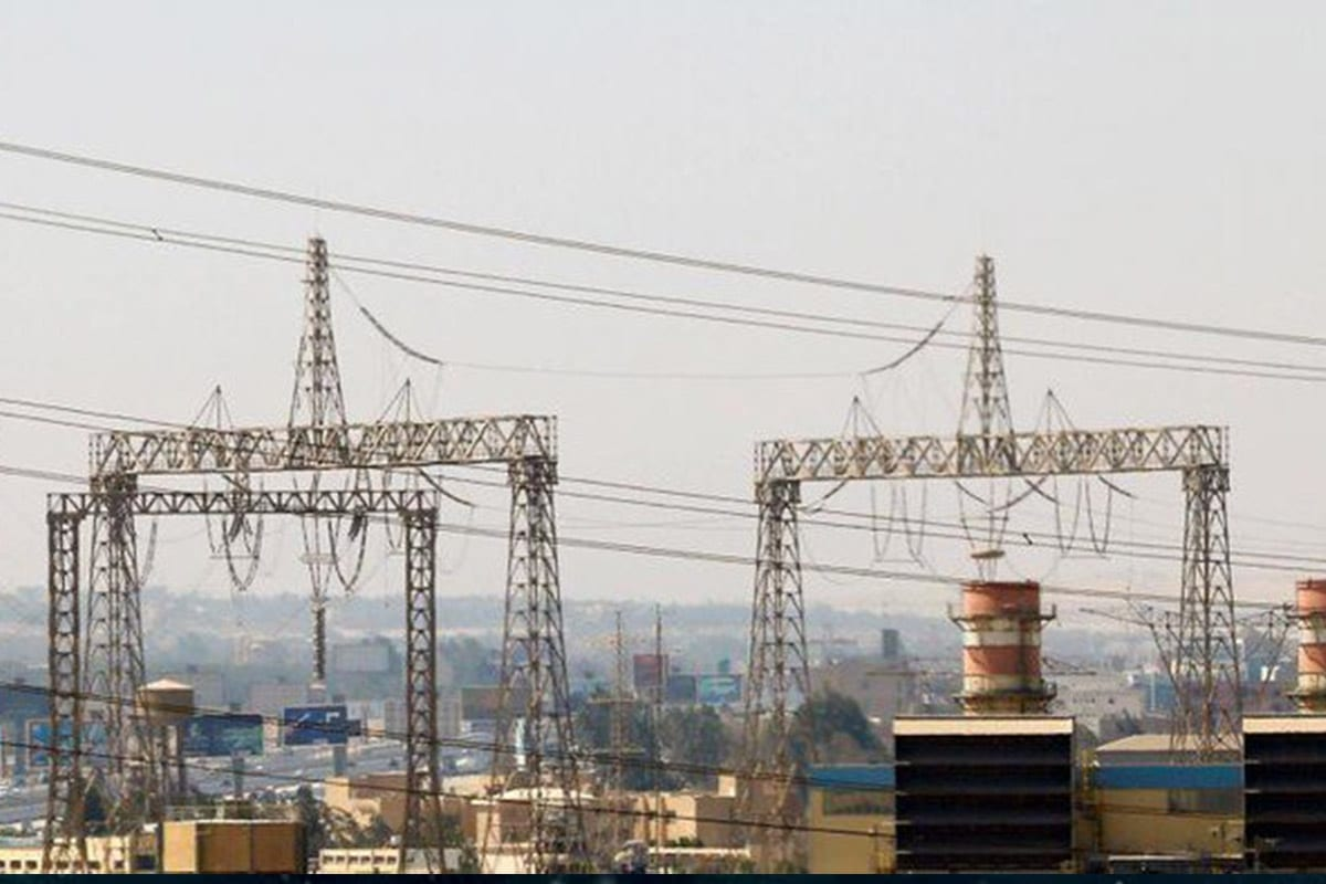 Electricity pylons and power transmission lines [Reuters]