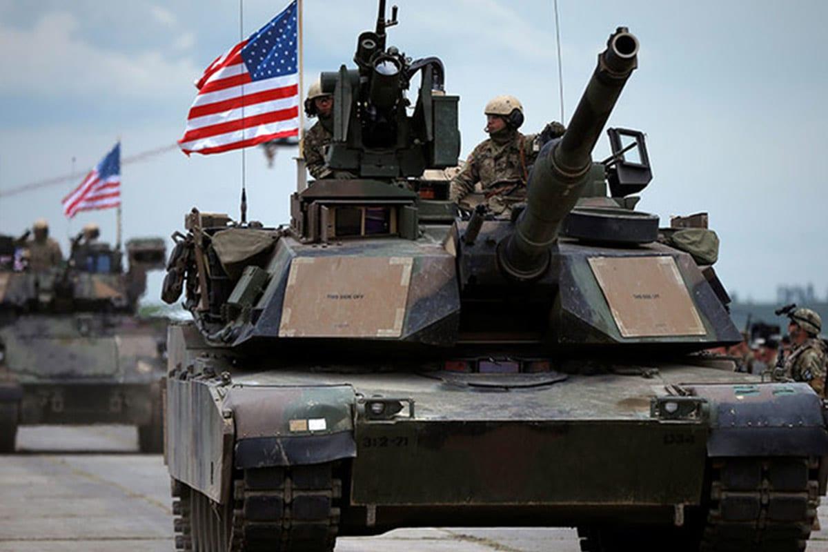 US tanks [Twitter]