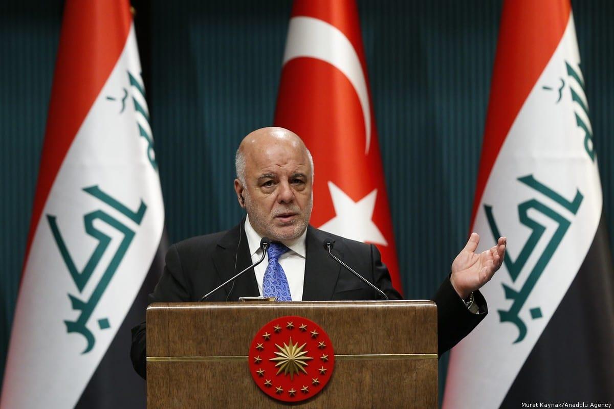 Iraqi Prime Minister Haider Al-Abadi [Murat Kaynak/Anadolu Agency]