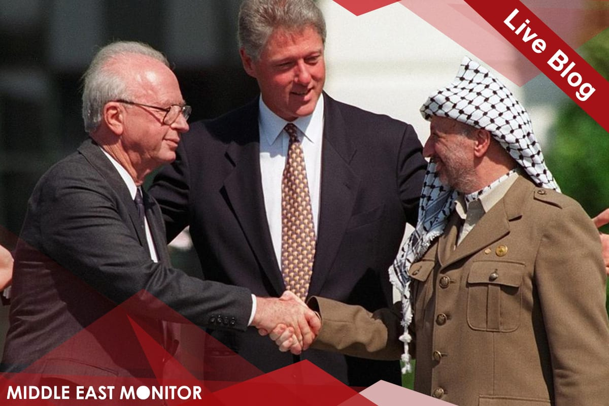 MEMO Conference - Oslo at 25 - Middle East Peace - Follow the Live Blog
