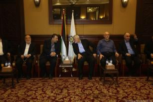 2018_8-3-Senior Hamas officials arrive in Gaza4O6A8091