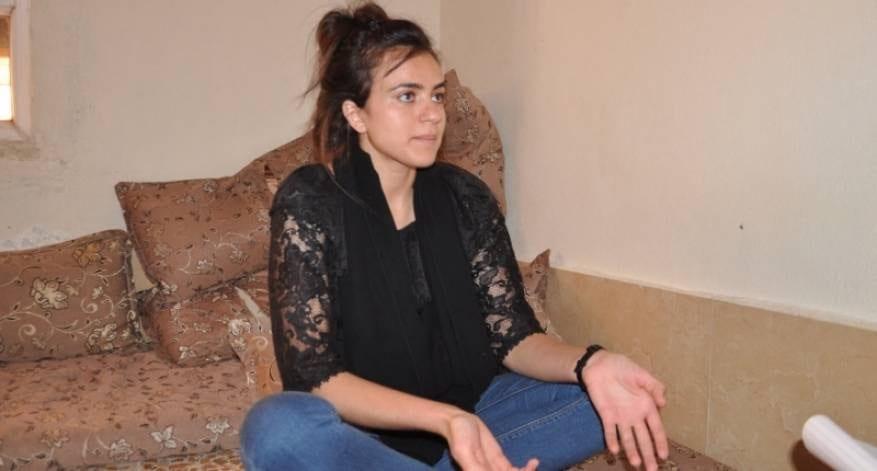 A Yazidi girl, Ashwaq