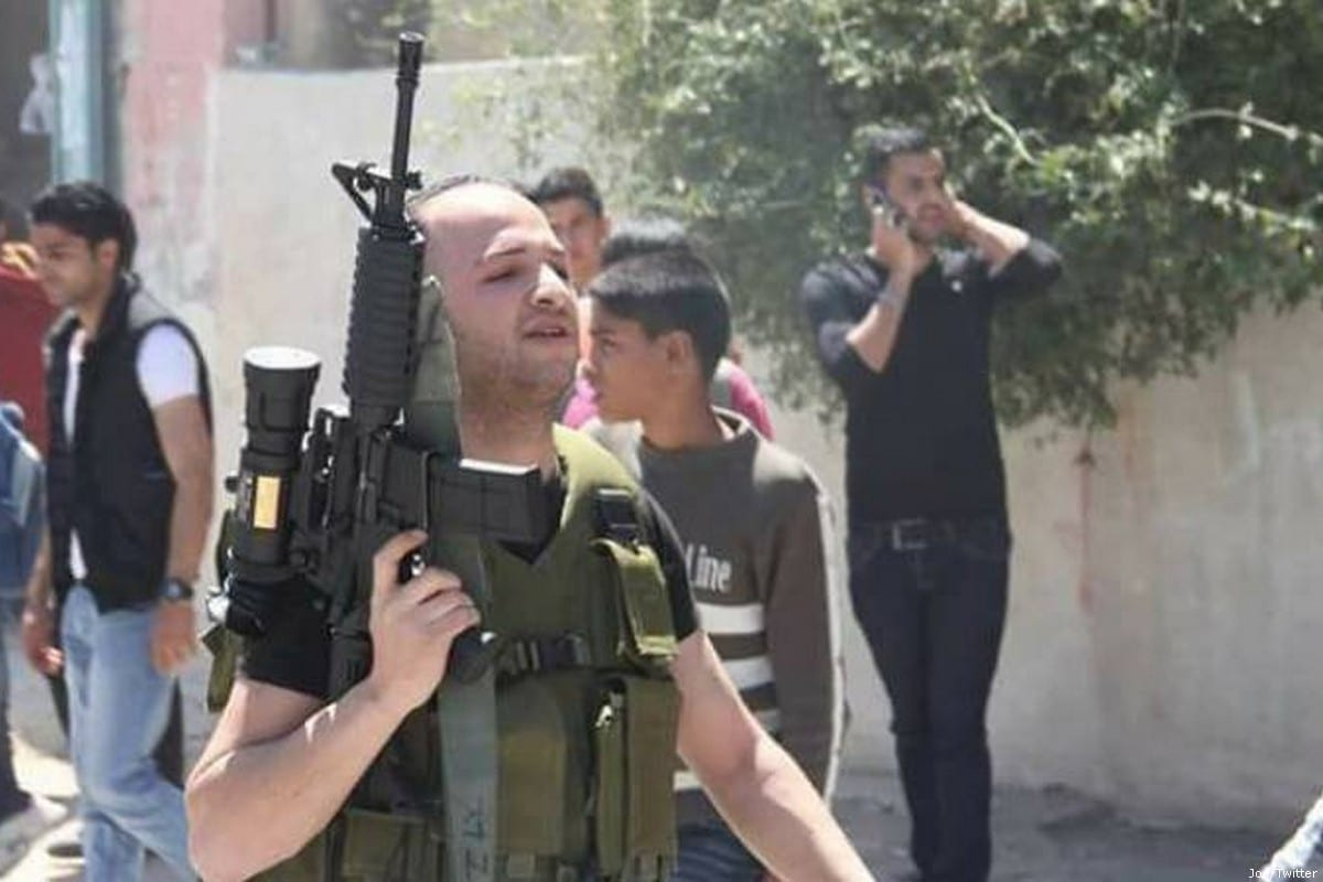 28-year-old Palestinian Ahmed Abu Hamada, died in a Palestinian Authority jail [Twitter]
