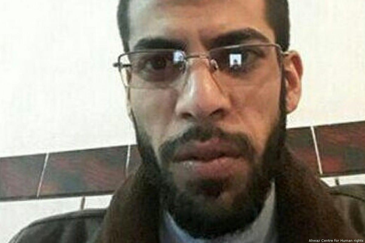Ahmad Kaabi, a political prisoner in Ahwaz [Ahwaz Centre for Human rights]