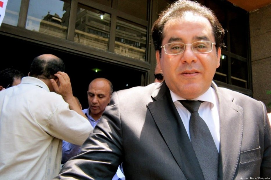 Dr. Ayman Nour, the leader of Ghad Party and the former Egyptian presidential candidate [Ayman Noor/Wikipedia]