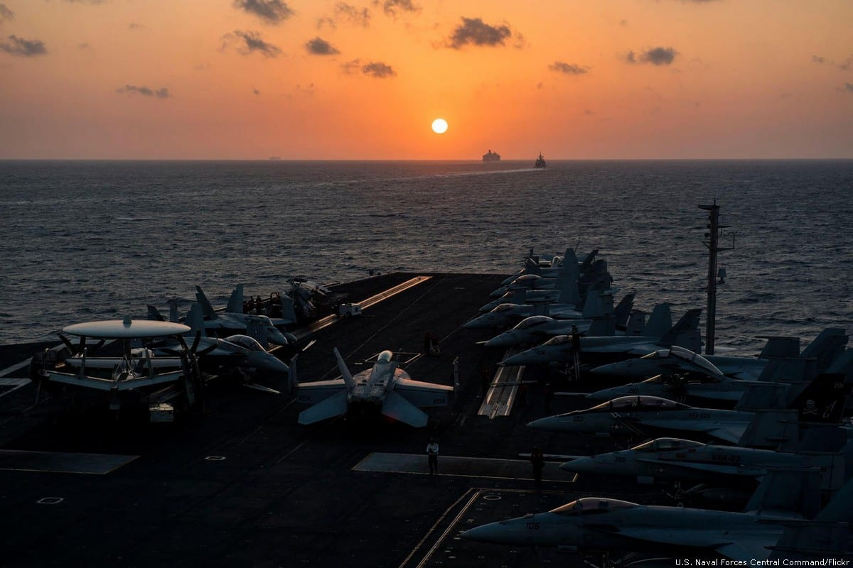Bab El-Mandab Strait [U.S. Naval Forces Central Command/Flickr]