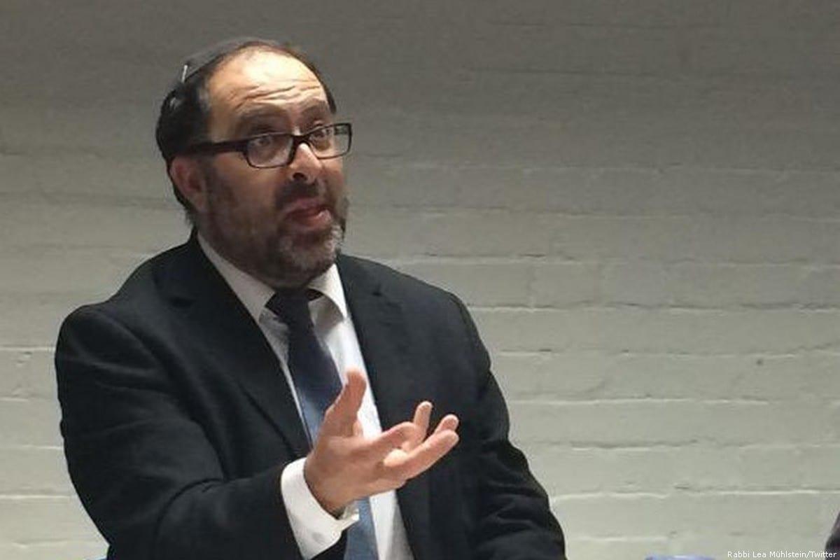 British rabbi, David Mason [Rabbi Lea Mühlstein/Twitter]