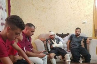 Two Palestinians were injured after Israeli settlers attacked them while they were inside a vehicle in Nablus, West Bank [Ma'an News Agency]