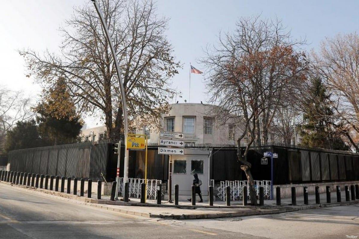US embassy in Ankara, Turkey [Twitter]